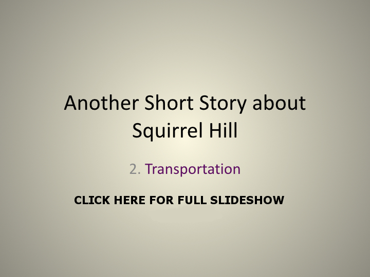TITLE PAGE Another Short Story about Squirrel Hill images.001
